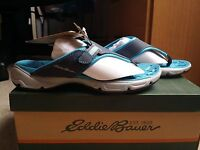 Nib-eddie Bauer Unify Navy Blue Sandals (size 5.5)