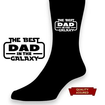 PERSONALISED MENS SOCKS NO 1 DAD GRANDAD POPS SON BROTHER SON IN LAW NEPHEW UNCL