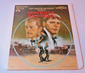 Gunfight-at-the-O-K-Corral-RCA-VideoDiscs-00687-CED-Video-Disc-videodisc-movie