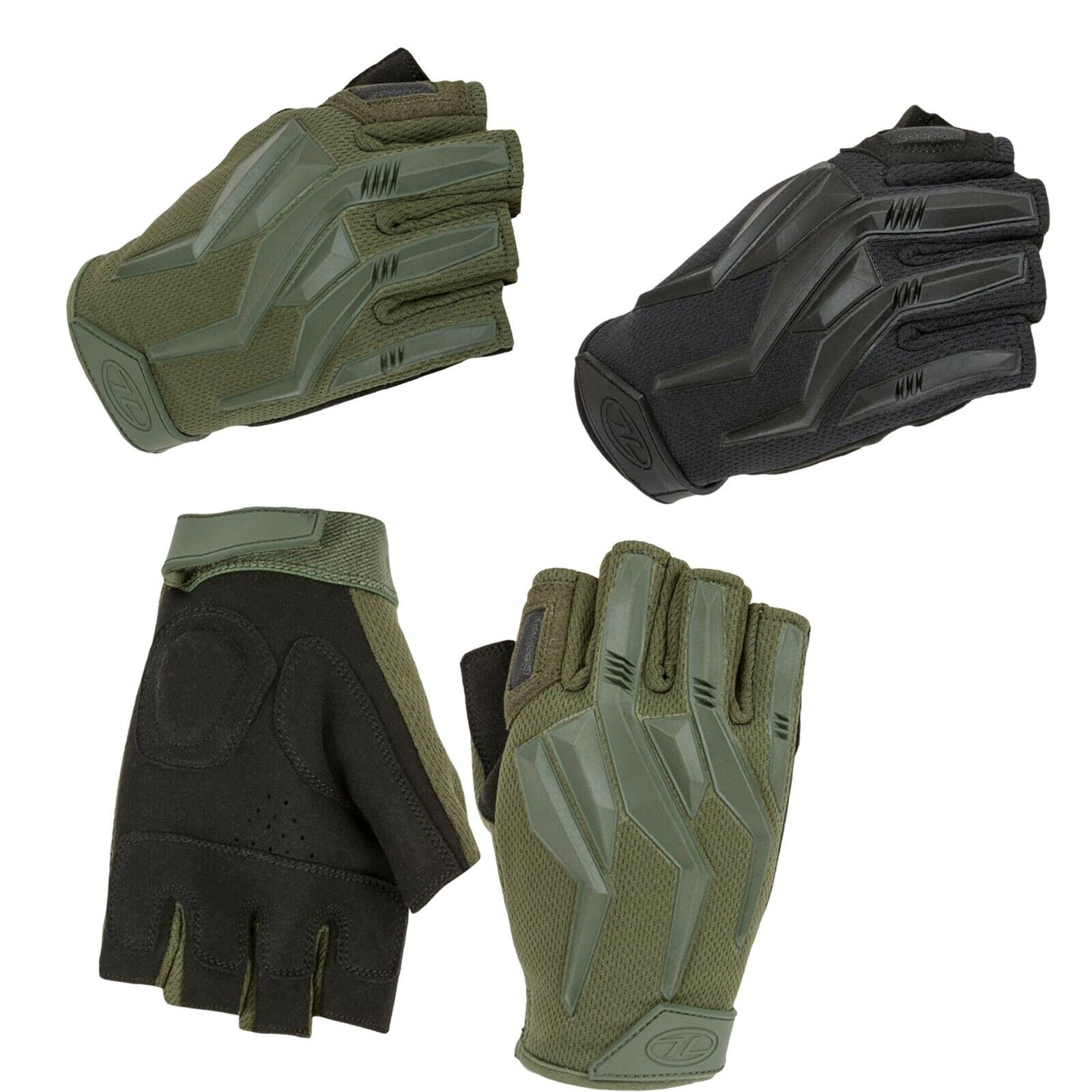 Raptor Fingerless Gloves | Impact | Contact | Protection