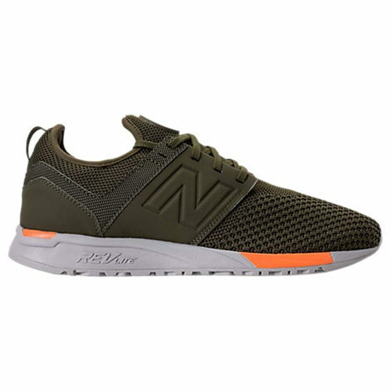 NEW BALANCE 247 KNIT OLIVE/GREEN CASUAL SHOES MEN'S SELECT YOUR SIZE