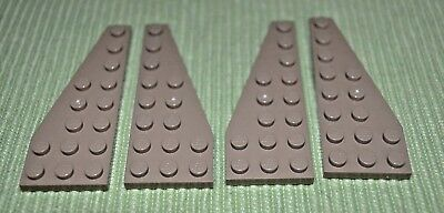 Dark Tan 1x4 Standard Plate Bricks ~ Lego ~ NEW ~ Star Wars 10