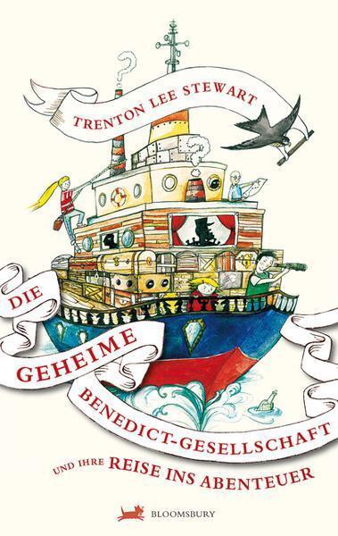 Die geheime Benedict-Gesellschaft und ihre Reise ins Abenteuer von Trenton...