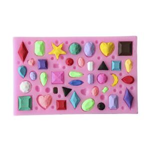 Creative-Polymer-Clay-Fondant-Mold-Gemstone-Diamond-Gem-Stone-Gem-Kitchen-NP2X