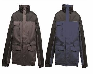 REGATTA-MENS-CONDENSER-WATERPROOF-BOMBER-WORKWEAR-JACKET-BLUE-or-BLACK-TRA372