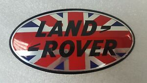 LR-Discovery-Defender-Autobiography-Vogue-Badge-Union-Jack-Style-105-mm-x-53-mm