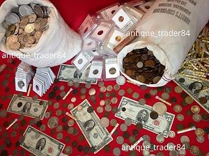 Estate-Lot-Sale-Old-US-Coins-Gold-Silver-Currency-Proof-Ancient