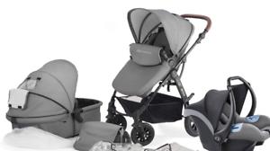 Kinderkraft Moov Multi Babyschale grau für Kombikinderwagen