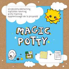 Magic Potty Töpfchentraining Sauberkeitstraining verfärbende Sticker Baby Pflege