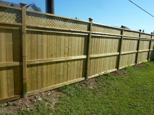 Treated Wooden Pack of 4 8ft 2.4m 3/'/' x 3/'/' 75mm x 75mm Fence//Gate Posts