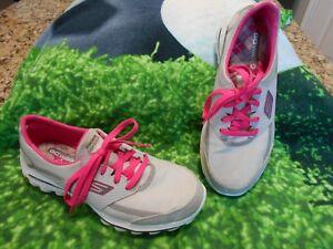 05c9c779 Womens Skechers Go Walk 2 Lynx Golf Shoes Gray / Pink Sz 8 M ...