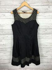Women's Betty Jackson Black Party Dress - UK16 - Great Condition