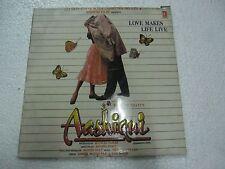 AASHIQUI 2 lp NADEEM SHRAVAN 1990  RARE LP RECORD OST orig BOLLYWOOD VINYL VG+