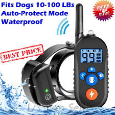 PET998DRB2 Dog Bark Collars Training Rechargeable and Rainproof 330 Yd Remote