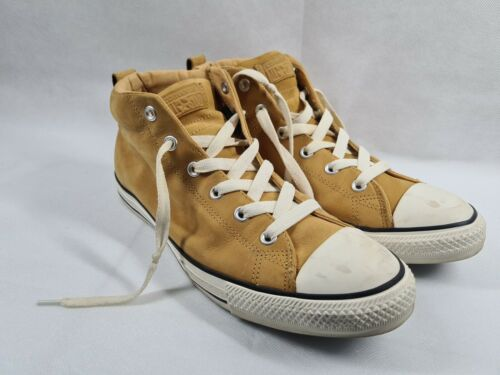 MENS CONVERSE C.T. ALL STAR BROWN/TAN LEATHER SIZE