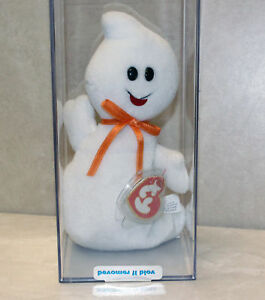 Authenticated-Spooky-Ghost-MWMT-MQ-3rd-1st-gen-Ty-Beanie-Baby-SP