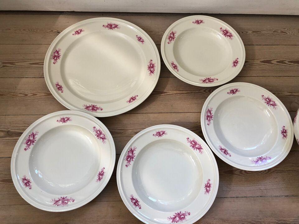 Porcelæn, Fad, skål og dybe tallerkner