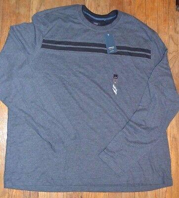 3XL or 4XL Arrow Big /& Tall Long Sleeve Top Crew Neck MSRP $50.00 XXXL XXXXL