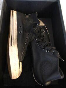 john varvatos converse 10.5 Leather