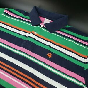Brooks-Brothers-Performance-Polo-Shirt-Men-039-s-XL-Original-Fit-Cotton-Stripes