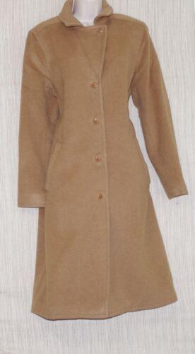 marron et beige laine mohair Co Isda nylon Femme en Trench wAq0Y4x