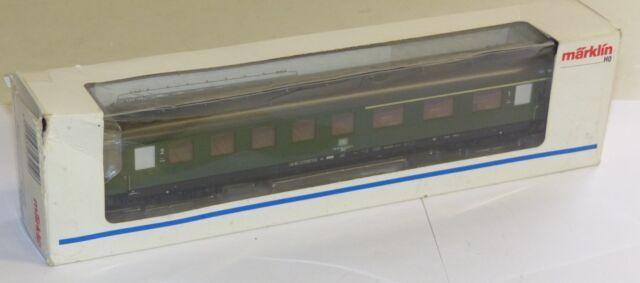 Märklin 43210 4-Achser Schürzenwagen 1.//2.Klasse ABüe DB Spur H0 OVP