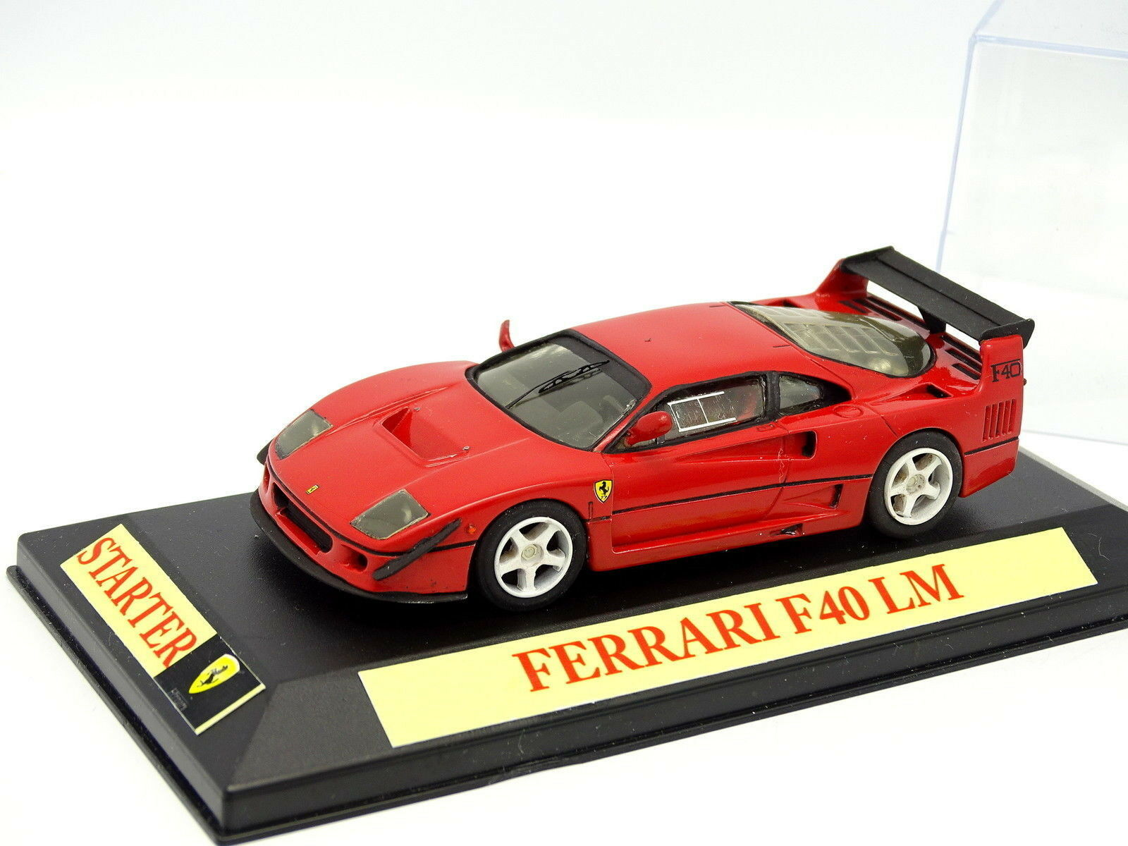 Kit Montado Base Starter 1 43 - Ferrari F40 LM  Rojo