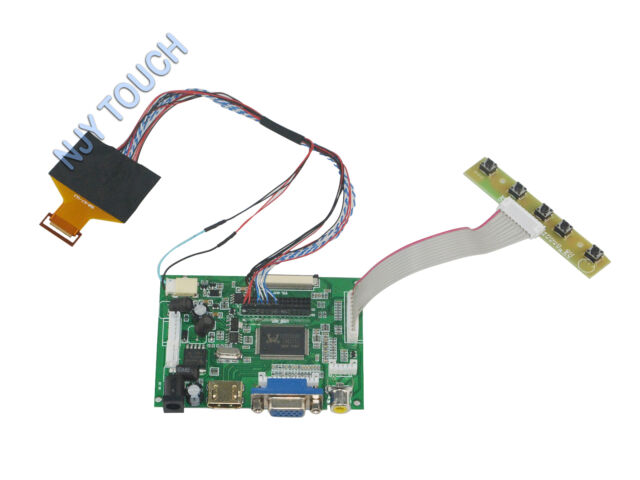 """HDMI Controller Board for 9.7"""" IPAD LP097X02 LCD Screen Display Connector LVDS"""