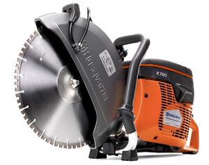Husqvarna 14 k760 power cutter concrete k saw gas diamond blade ebay stock photo keyboard keysfo Images
