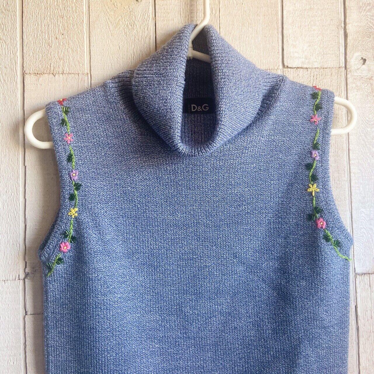 Dolce & Gabbana Knit Turtleneck Tank Top  - image 2