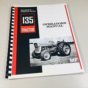 Massey-Ferguson-MF-135-Tractor-Operators-Owners-Manual