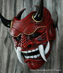 Mascara-De-Airsoft-samurai-asesino-demonio-Oni-Hannya-Noh-DA01-japonesa-para-Cosplay-Disfraz