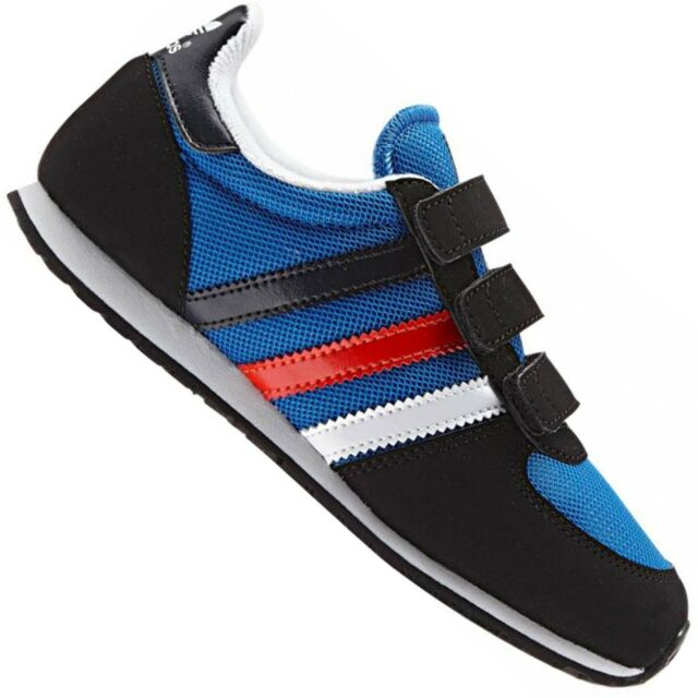 Adidas Originals Adistar Racer Children Shoes Trainers Trainer Blue Red White 21