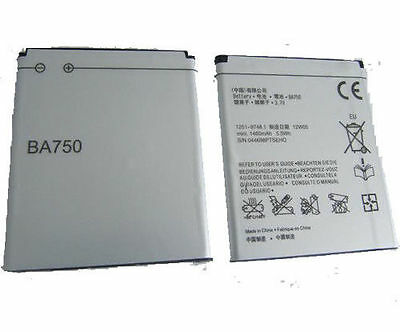 Battery For Sony Ericsson X12 X12i Xperia Arc S LT18i BA750 Replacement Battery