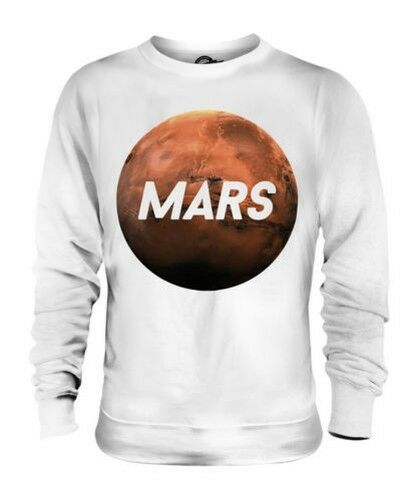PLANET MARS UNISEX SWEATER TOP GIFT SPACE
