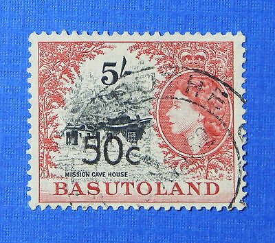 Orderly 1961 Basutoland 50c Scott# 70 S.g.# 67a Used Cs20256 Stamps British Colonies & Territories