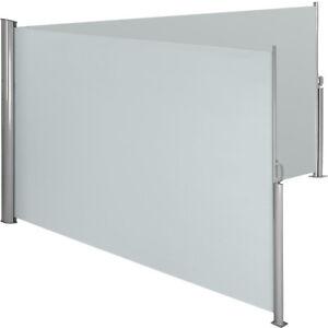 Alu-Doppel-Seitenmarkise-Sonnenschutz-Sichtschutz-Windschutz-Terrasse-UV