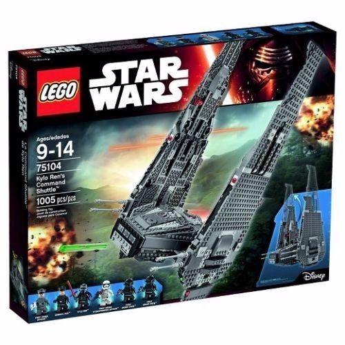 NIB MINT LEGO STAR  WARS Kylo Ren's Comhommed Shuttle 75104 Discontinued nouveau SEALED  bienvenue à l'ordre