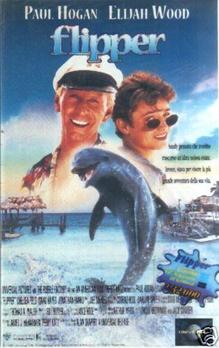 FLIPPER HOGAN WOOD VHS