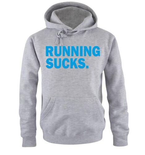 Uomo HoodieAnimale Fitness Body Sport Nuovo Mi hai interrotto shirts-Running Sucks