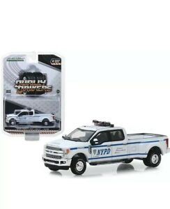 GREENLIGHT-1-64-2019-NYPD-FORD-F-350-DUALLY-DIECAST-PICKUP-TRUCK-46020F