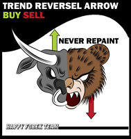 Forex Trading System Mt4 Forex Indicator Never Repaint--trend Revers Arrow--