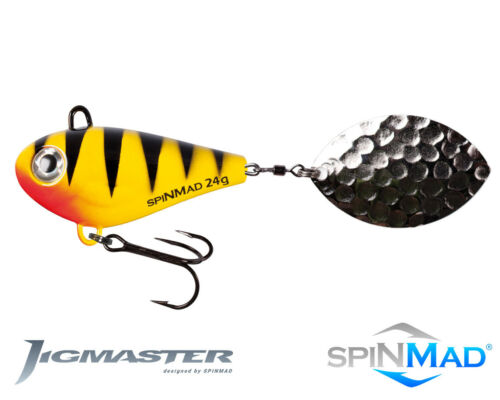 100mm Spinmad JIGMASTER 24g excellent for pike /& zander 1st class post