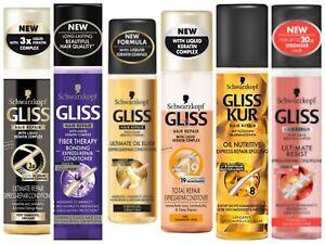 Schwarzkopf Gliss Kur Express Repair Dry Hair Conditioner Leave In