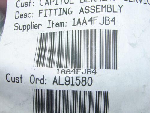 04 Hydraulic Fitting 1AA4FJB4 Global Crimp TTC 90° Elbow Qty-4 Eaton Aeroquip