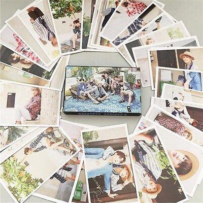 30pcs Set KPOP BTS LOMO CARD Photo Poster Bangtan Boys Summer Package JIMIN JIN
