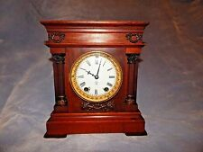 ANTIQUE Wooden SETH THOMAS Mantel Clock - Cordova Model - 1896 - WORKS GREAT!