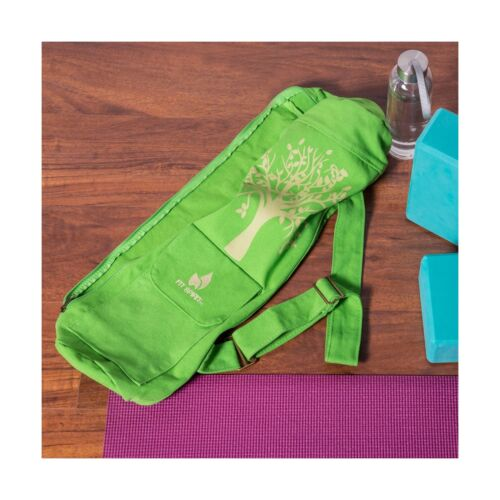 Choose Your... Fit Spirit Tree of Life Exercise Yoga Mat Bag w//2 Cargo Pockets
