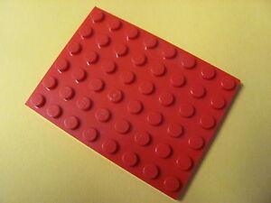 LEGO 3036 @@ Plate 6 x 8 @@ Plaque @@ BLACK @@ NOIR x1