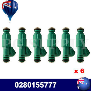 Areyourshop Fuel Injector for Holden Commodore VQ VP VR VS VT VU VX VY V6 3.8L (0280155777)